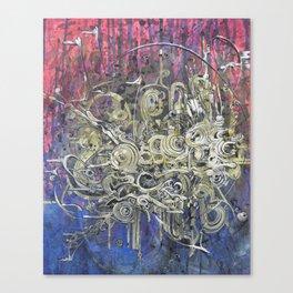 5blackstars Canvas Print