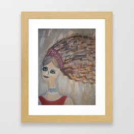 "Mermaids, ""Melvina"" Framed Art Print"