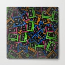 Cassete Metal Print