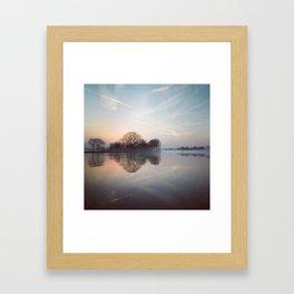 Ten seconds before sunrise Framed Art Print