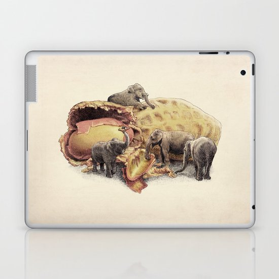 Elephant's Paradise Laptop & iPad Skin