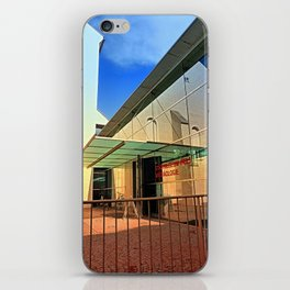 Archeology museum of Wels | architectural photography iPhone Skin