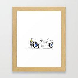 haritsadee 22 Framed Art Print
