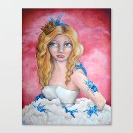 King Me! Canvas Print
