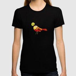 Bird With Apple T-shirt