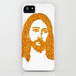Cheesus iPhone Case
