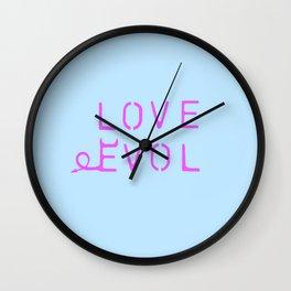 Loves Nature Wall Clock