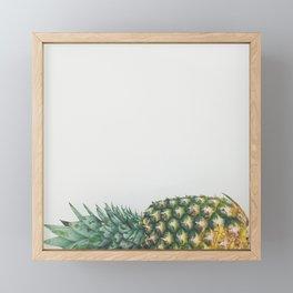 Fallen Pineapple Framed Mini Art Print