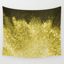 Gold and shiny pure gold texture Wall Tapestry