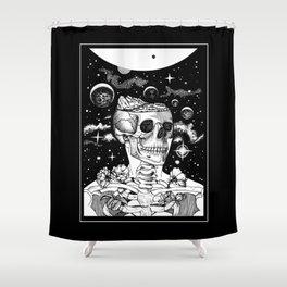 Inner Earth Shower Curtain