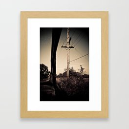 Old Train Bridge #1 Framed Art Print