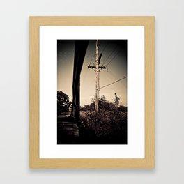 Old Train Bridge #1 Framed Art Print
