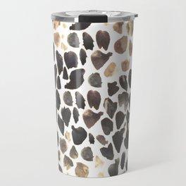 Abstract Animal Print Travel Mug
