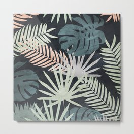 Tropicalia Night Metal Print