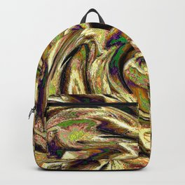 Gold Brown  Rotation Motaion Background Abstact Backpack