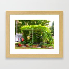 Organic Gardening 1 Framed Art Print