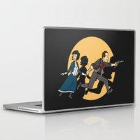 tintin Laptop & iPad Skins featuring TinTinfinite by Moysche Designs
