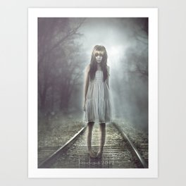 .: The ghost in yoU :. Art Print