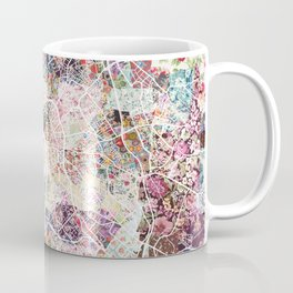 Toulouse map Coffee Mug