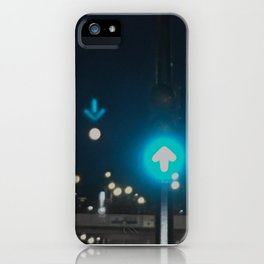 Montreal by traffic light iPhone Case