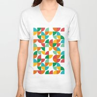 pie V-neck T-shirts featuring Pie in the sky by Picomodi