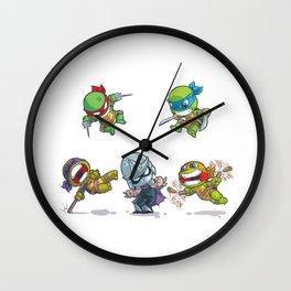 TMNT Cartoon Style Wall Clock