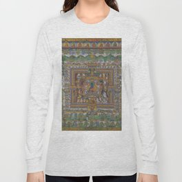 Medicine Buddha Long Sleeve T-shirt