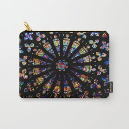 Church stained glass windows colors Carry-All Pouch