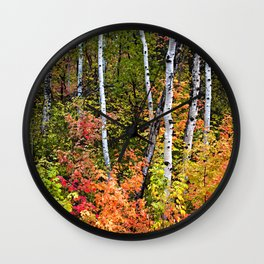 Alpine Loop Utah Wall Clock