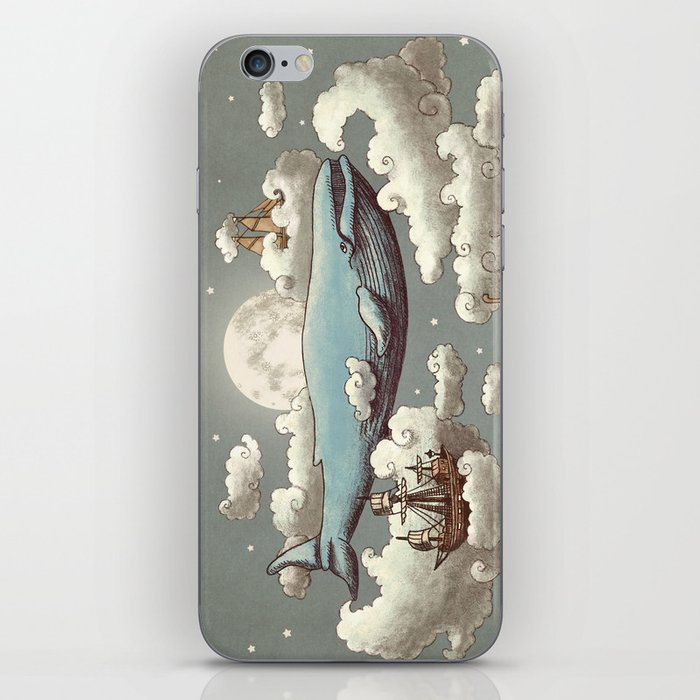 Ocean Meets Sky iPhone Skin