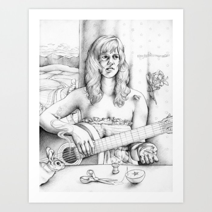 Fourth Sister Art Print