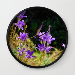 Sierra Nevada Wildflowers Wall Clock