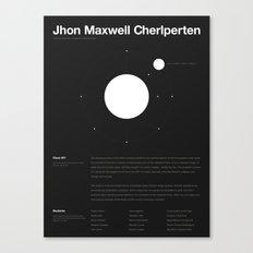Jhon Maxwell Cherlperten Canvas Print
