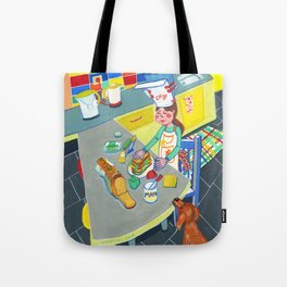 Little chef Tote Bag
