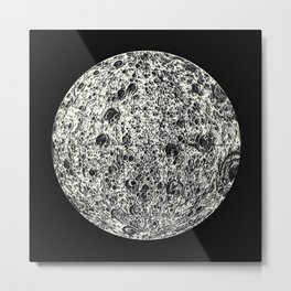 the darkside of the moon - b Metal Print