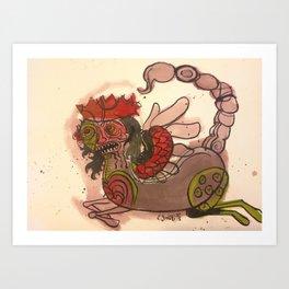 Manticore Art Print