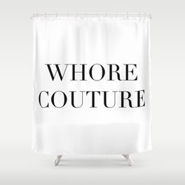 W COUTURE Shower Curtain