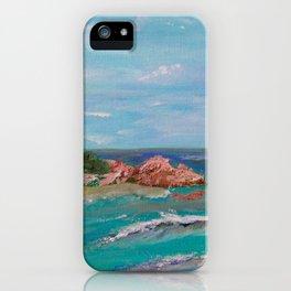 La Punta beach Mexico, Puerto Escondido iPhone Case