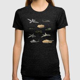 American Military Pattern T-shirt