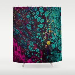 Crunchberries Shower Curtain