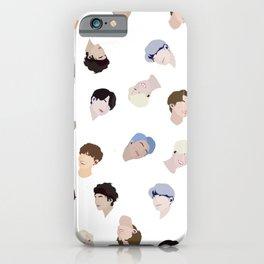 Minimalist BTS Design iPhone Case
