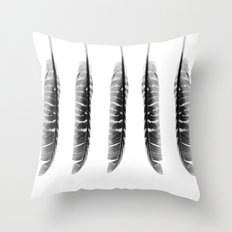 Elegance in Black & White Throw Pillow