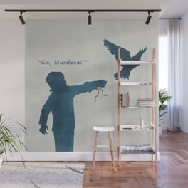 """Go, Mordecai!"" Wall Mural"