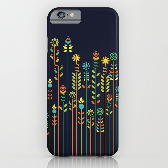 Overgrown flowers iPhone & iPod Case