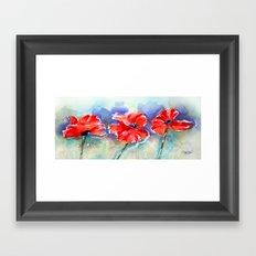 Poppy Pride Framed Art Print