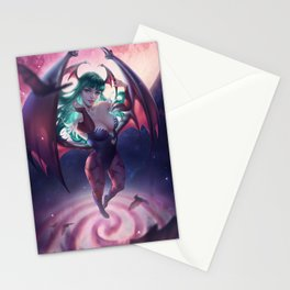 Morrigan Aensland Stationery Cards