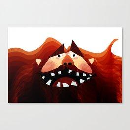 Bear Man Canvas Print