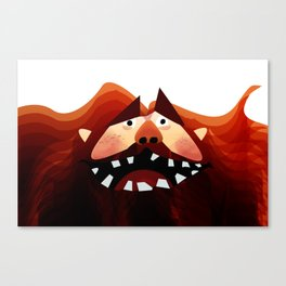 Bear Man Canvas Print