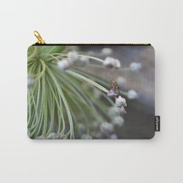 Bug on Leek Puff Carry-All Pouch