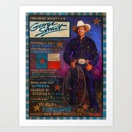 George Strait Art Print